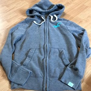 Hollister Women's full zip up hoodie size small